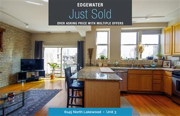 Just Sold in the Heart of Edgewater Glen