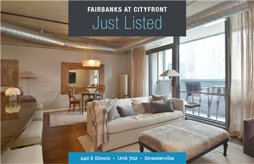 Spacious Condo at The Fairbanks Cityfront Plaza