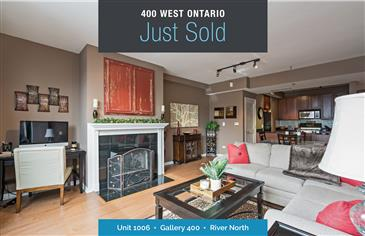 Stunning South Facing Unit Just Sold at Gallery 400