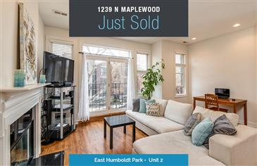 Just Sold in East Humboldt Park