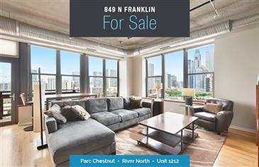 Elegant 2 Bed in River North