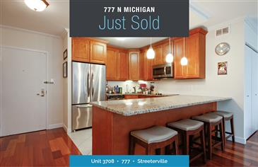 Magnificent Mile Condo Just Sold
