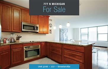 Michigan Ave Condo For Sale