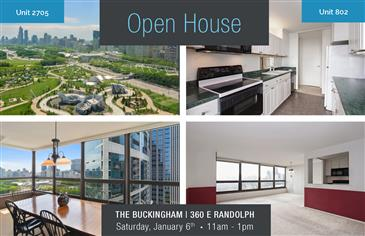 Open House - Saturday, January 6th