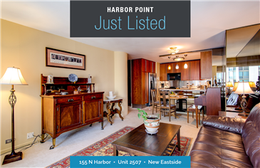 Favored 1 Bedroom Just Listed at Harbor Point