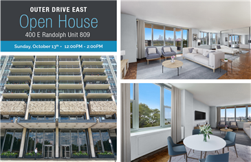 Open  House: 400 E Randolph Unit 809