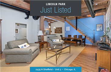 2,700 Sq Ft Loft in Lincoln Park