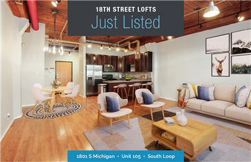 Spacious South Loop Loft