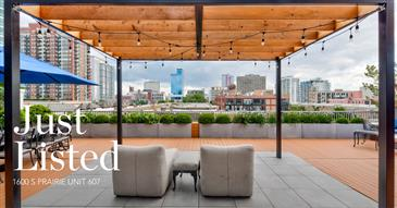 2,400 SqFt. Private Terrace in the South Loop
